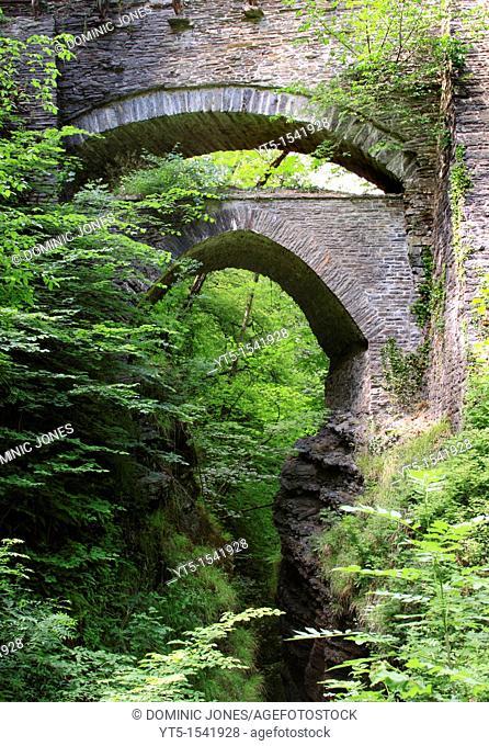 Devil's Bridge, Ceredigion, Wales, Europe
