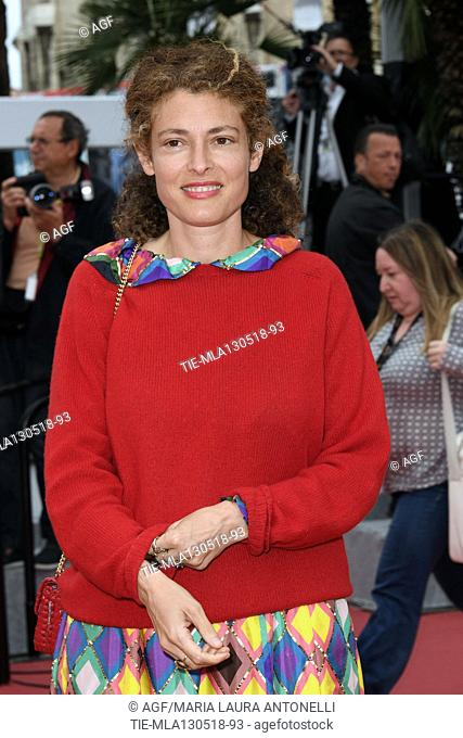Ginevra Elkann during 'Lazzaro Felice' premiere, 71st Cannes Film Festival, Cannes, 13 may 2018
