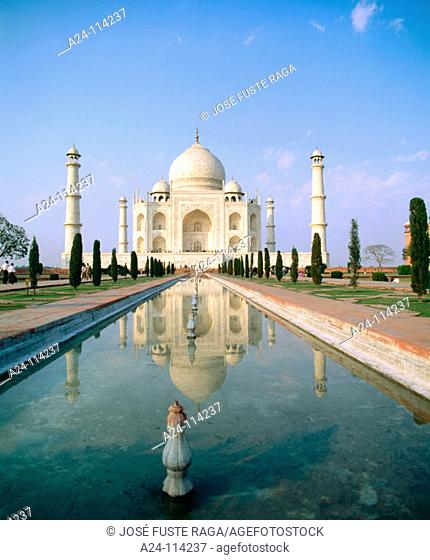 Taj Mahal. Agra. India