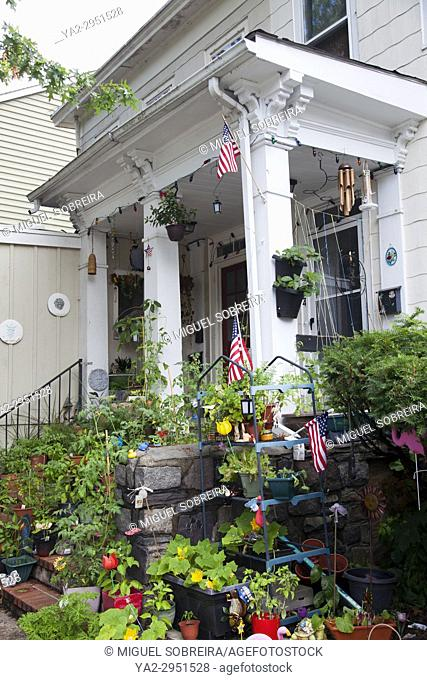 House Porch And Entrance in Lambertville - NJ - USA