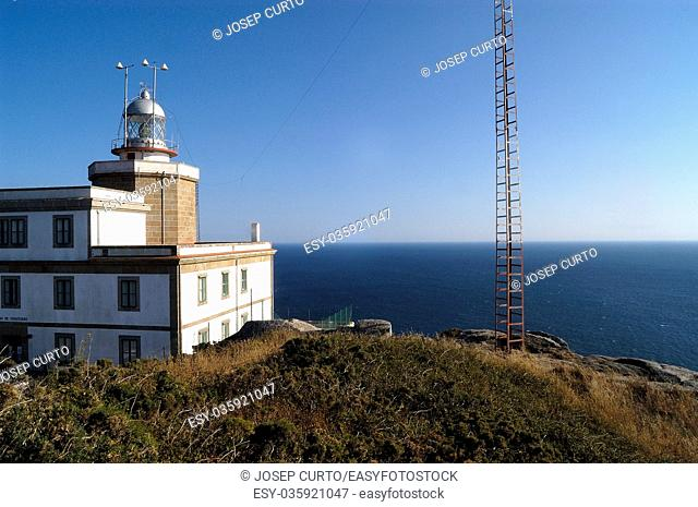lighthouse of Cape Finisterre, A Coruña, Spain
