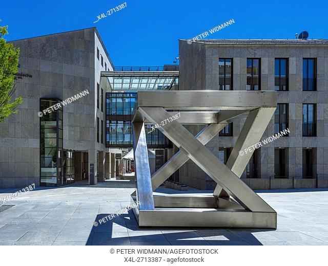Art Installation in centre of Vaduz, the capital city of Liechtenstein, Europe