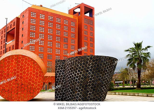Melia Hotel. Bilbao, Spain, Europe