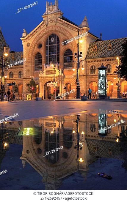 Hungary, Budapest, Market Hall, Vásárcsarnok
