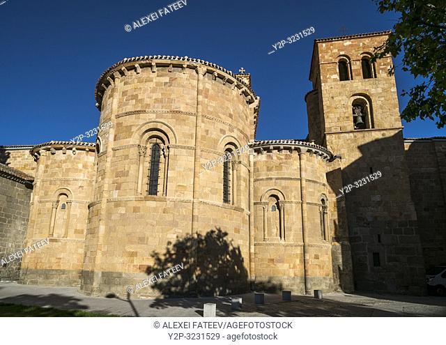 Church of St. Peter in Ã. vila, Castile and León, Spain