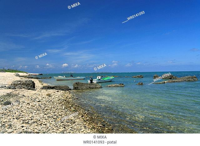 Shiraho, Ishigaki, Okinawa, Japan
