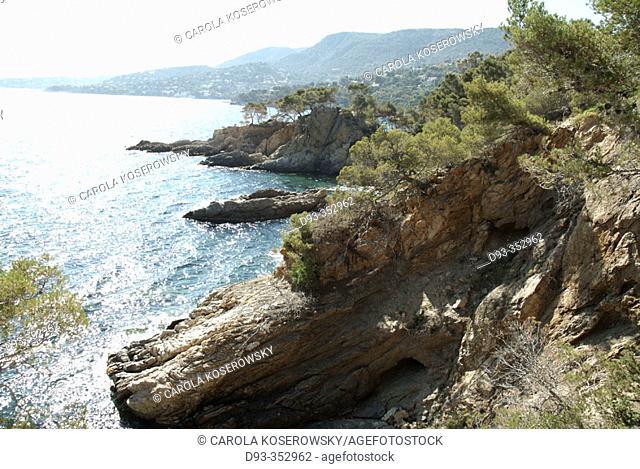 Cap Nègre. Lavandou. Cote d'Azur. France