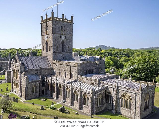 St Davids Cathedral St Davids Haverfordwest Pembrokeshire Wales