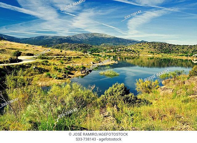Burguillo reservoir. Castile-Leon. Spain