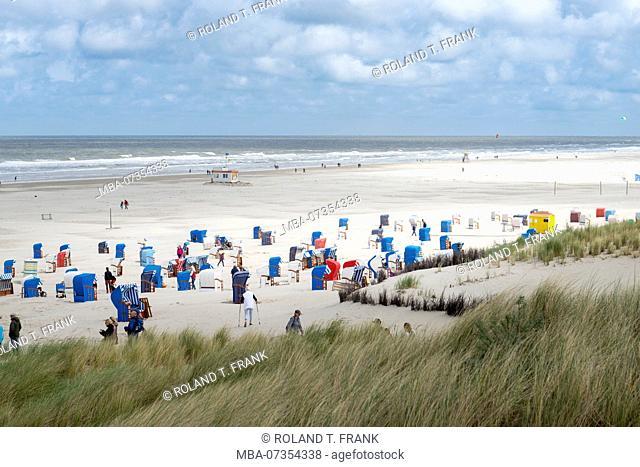 Germany, Lower Saxony, East Frisia, Juist, on the beach