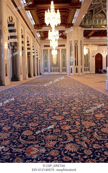Mosque Carpet detail