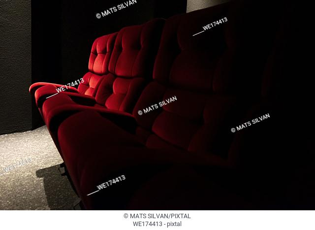 Red Cinema Chair in Switzerland