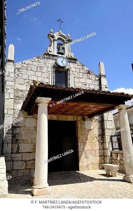 Hermitage of San Roque in Colmenar de Oreja, Madrid Province, Spain