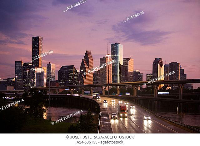 USA-Oct. 2006, Texas -Houston City, Downtown