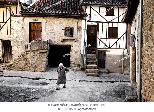 Miranda del Castañar  Sierra de Francia  Salamanca Castilla-León  España
