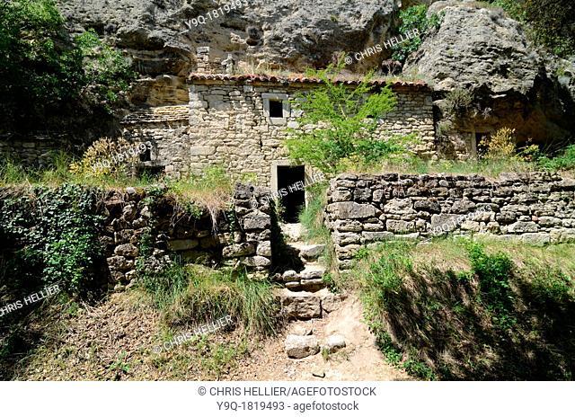 Abandoned Troglodyte House Barry Drôme Provence France