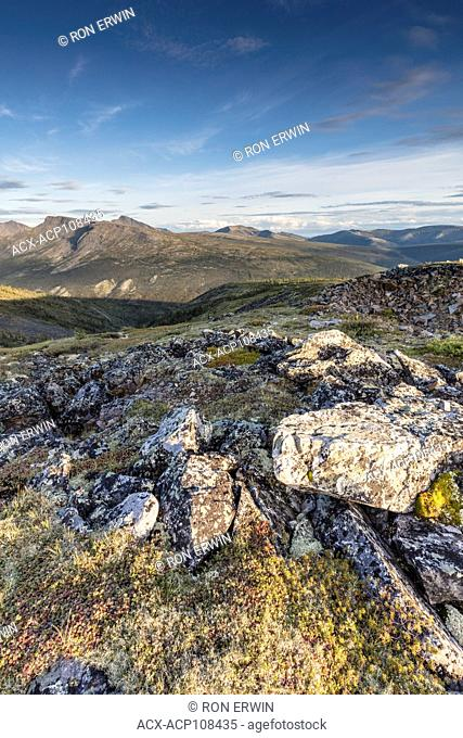 View from Keno Hill, Keno City, Yukon, Canada