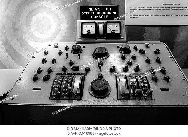 Stereophonic Mixer price Wales Museum Mumbai Maharashtra India Asia