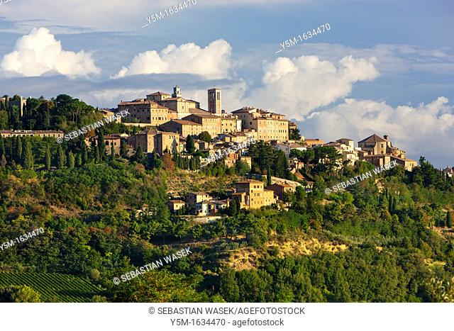 Montepulciano, Val d'Orcia, Tuscany, Italy, Europe
