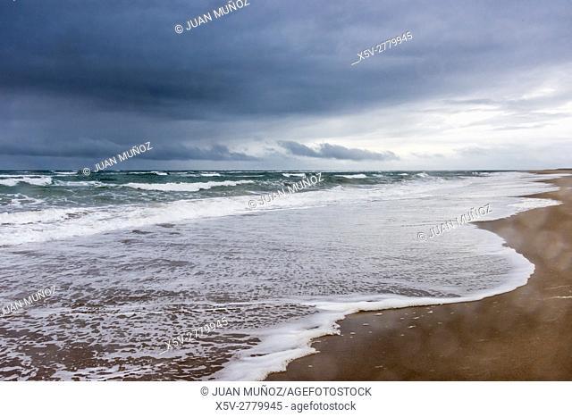 Punta del Moral Beach, Ayamonte, Andalucia, Spain