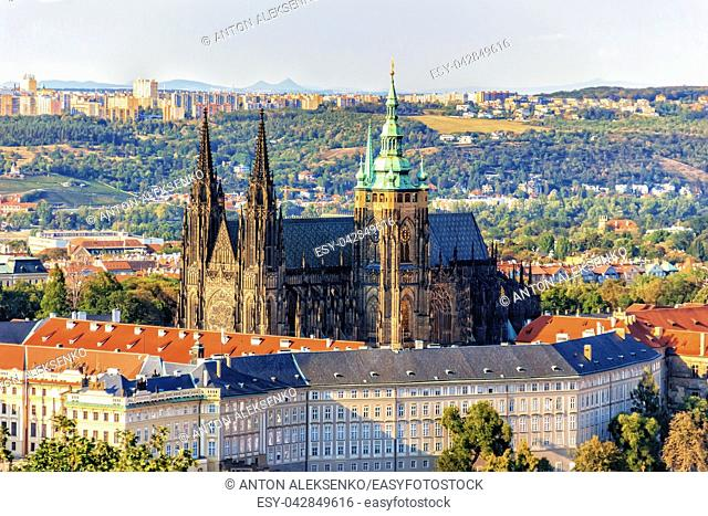 Prague Castle, famous sight of Czech Republic