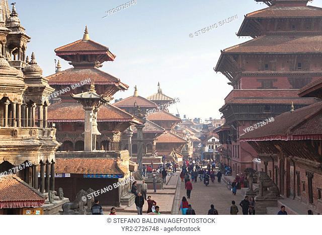 View of Durbar square, Patan, Nepal