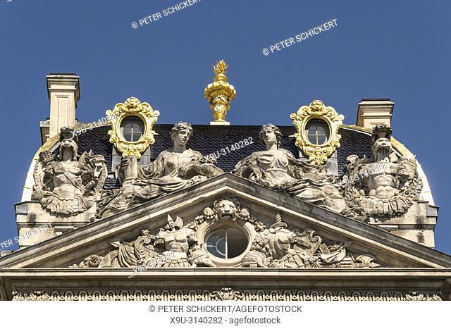 Detail des Rathaus von Lyon, Auvergne-Rhone-Alpes, Frankreich | Lyon City Hall detail, Lyon, Auvergne-Rhone-Alpes, France