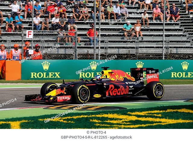 02.09.2016 - Free Practice 1, Daniel Ricciardo (AUS) Red Bull Racing RB12