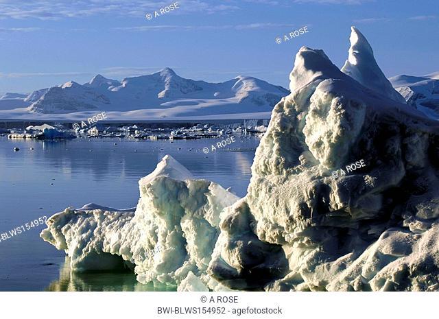 drifting ice, Antarctica, Suedpolarmeer