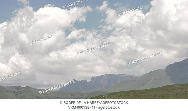 Cathkin Peak. Ukhahlamba Drakensberg Park. KwaZulu Natal. South Africa