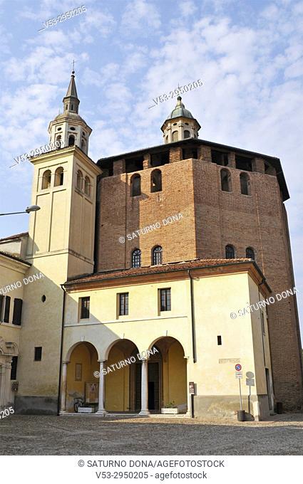 Church of Beata Vergine Incoronata, Sabbioneta, Lombardy, Italy