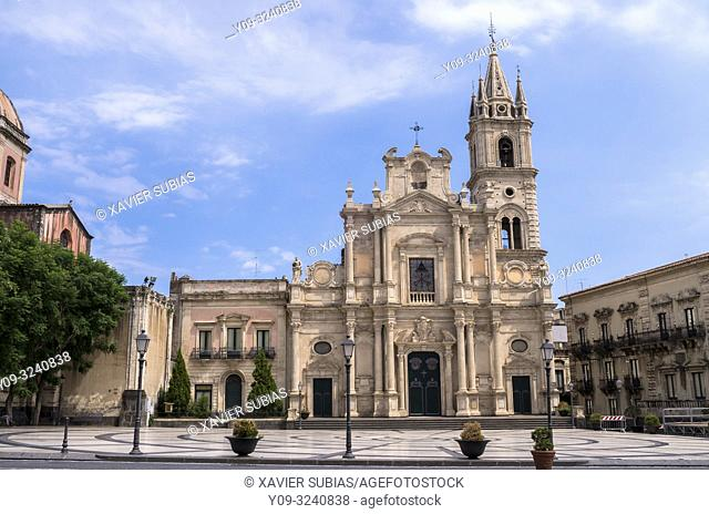 Church of Saints Peter and Paul, Acireale, Catania, Sicily, Italy