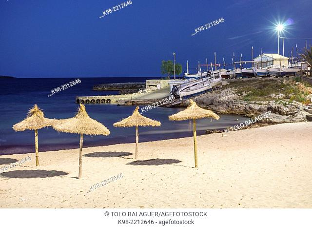 enbarcadero,S'Illot, Son Servera, Majorca, Balearic Islands, Spain