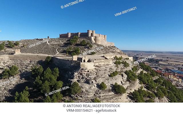 Vista aérea con dron. Chinchilla. Albacete