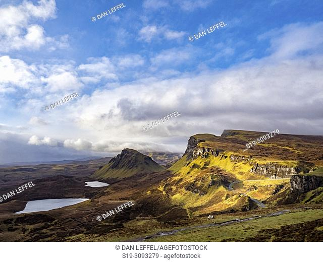 Scotland Isle of Skye Quiraing Vista