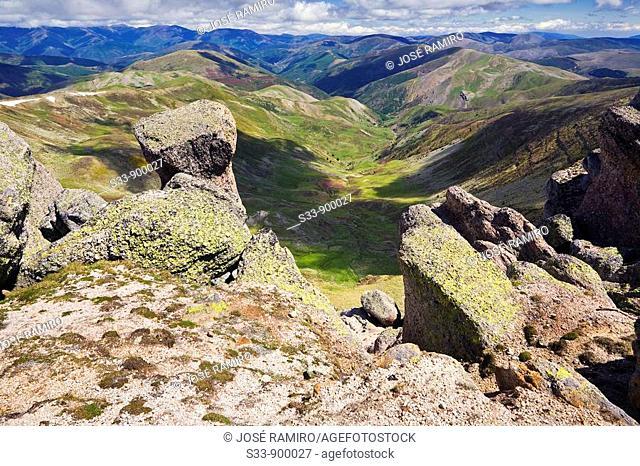 Sierra de Urbión desde el pico de Urbión  Provincia de Logroño  La Rioja  España