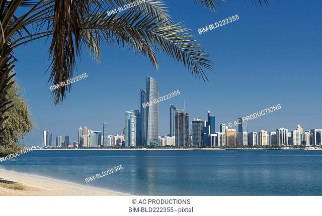 Urban waterfront, Abu Dhabi, Abu Dhabi Emirate, United Arab Emirates