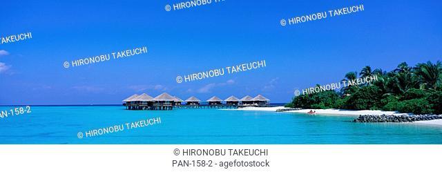 Beach Cabanas, Baros, Maldives, No Release