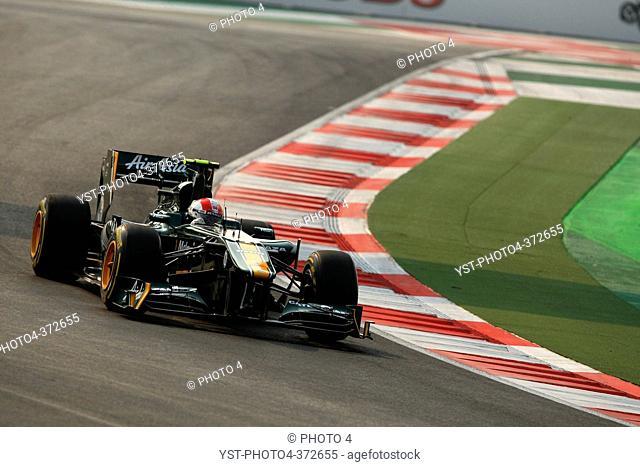Jarno Trulli ITA, Team Lotus, F1, Indian Grand Prix, New Delhi, India