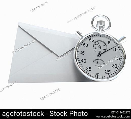 Envelope and chronometer