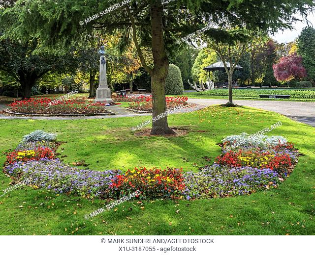Spa Gardens Ripon Yorkshire England