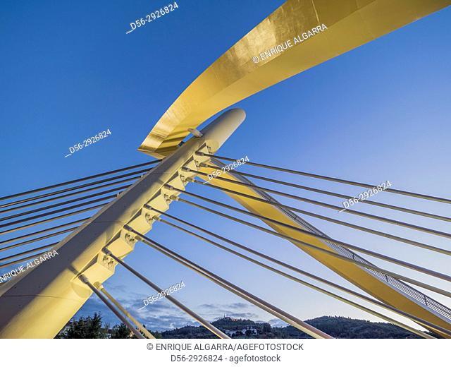 Millenium bridge, Ourense, Galicia, Spain
