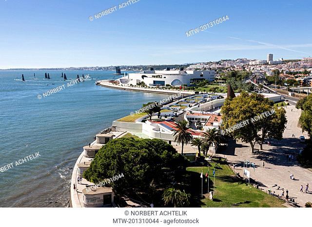 View of Champalimaud Foundation, Lisbon, Portugal