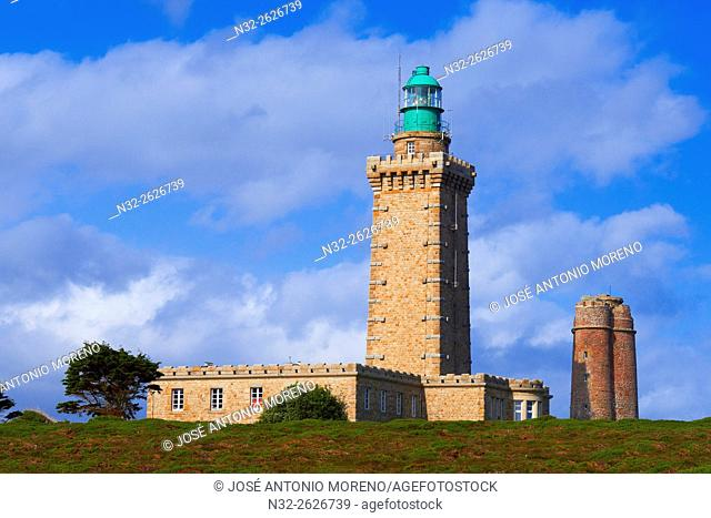 Cap frehel Lighthouse, Bretagne, Brittany, Côtes-d'Armor, Cape Frehel, Plevenon, French Brittany, France