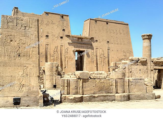 Temple of Edfu, Egypt, Africa