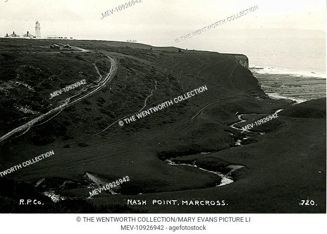 Nash Point, Marcross, Llantwit Major, Glamorgan, Wales