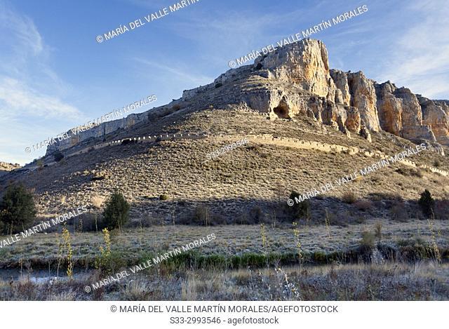 Riaza Canyon. Segovia. Castilla Leon. Spain. Europe