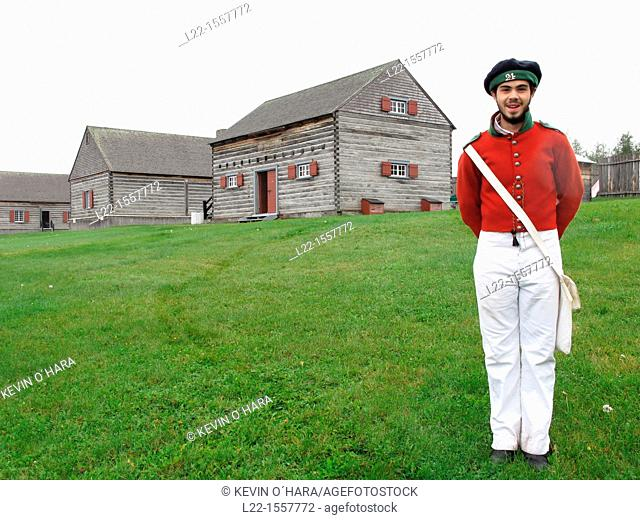 Fort Ingall was originally a British fieldwork built in Cabano in 1839 for the Aroostook War between Great Britain and the United States of America