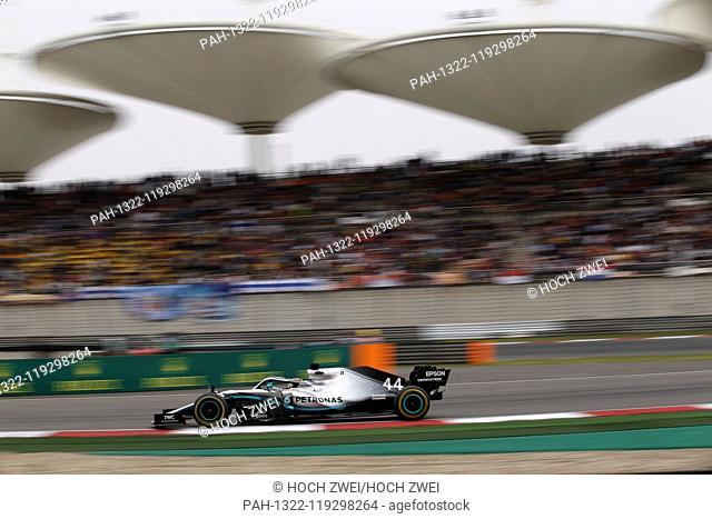 Motorsports: FIA Formula One World Championship 2019, Grand Prix of China, .#44 Lewis Hamilton (GBR, Mercedes AMG Petronas Motorsport), 14.04.2019