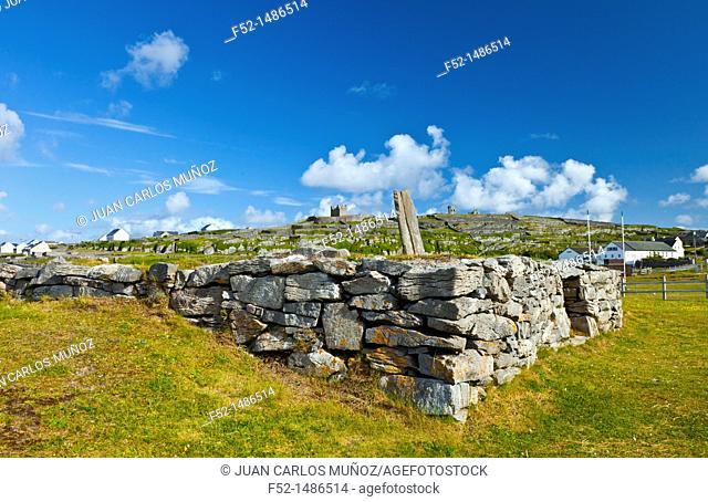 Cnoc Raithnighe Site  Inisheer Island - Inis Oirr  Aran Islands, Galway County, West Ireland, Europe